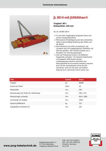 JL 80 H Produkt Details