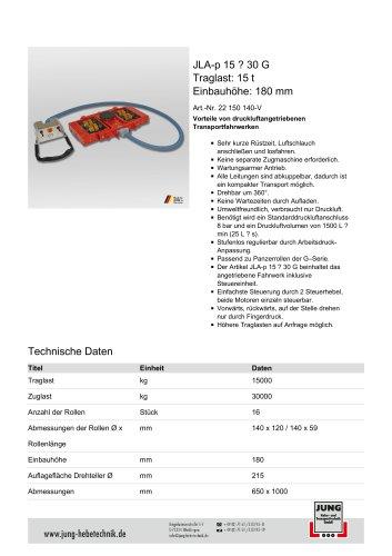 JLA-p 15/30 Produkt Details