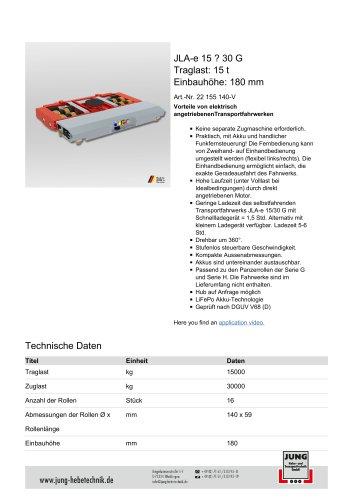 JLAe 15_30 Produkt Details