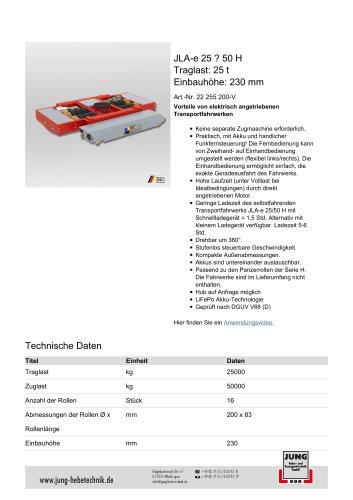 JLAe 25_50 Produkt Details
