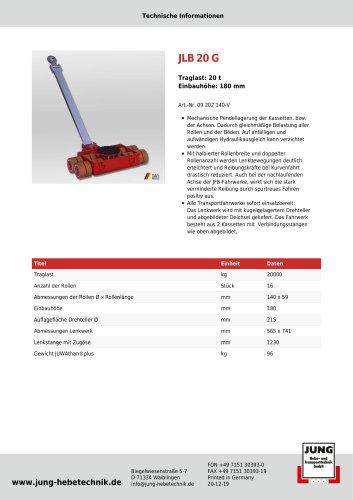 JLB 20 G Produkt Details