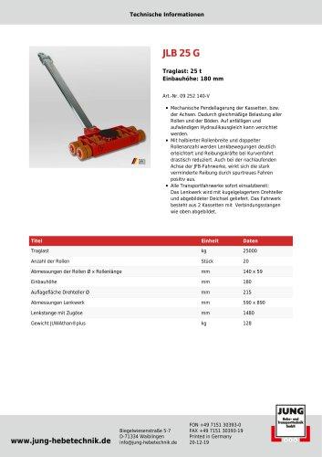 JLB 25 G Produkt Details