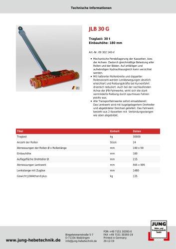 JLB 30 G Produkt Details