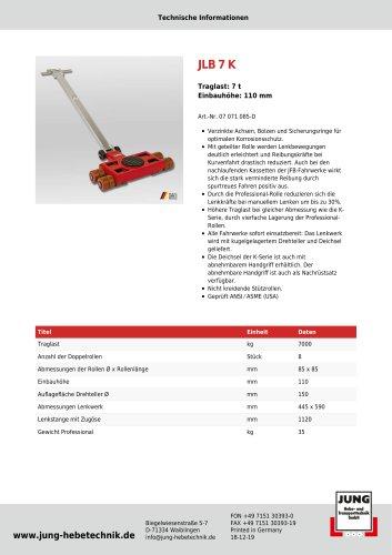 JLB 7 K Professional Produkt Details
