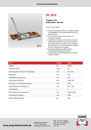 JTL 20 G Produkt Details