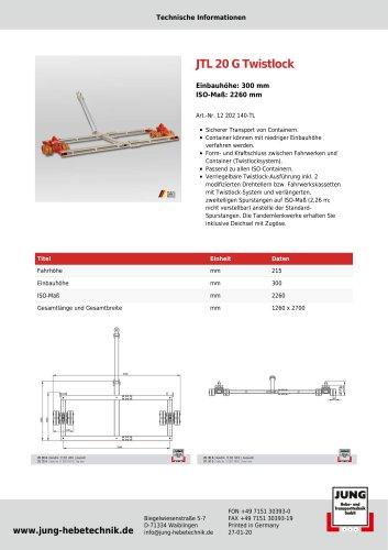 JTL 20 G Twistlock Produkt Details