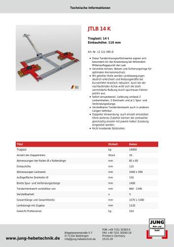 JTLB 14 K Produkt Details