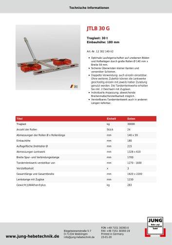 JTLB 30 G Produkt Details