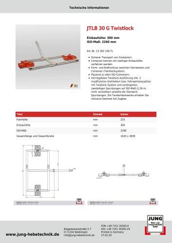 JTLB 30 G TL Produkt Details