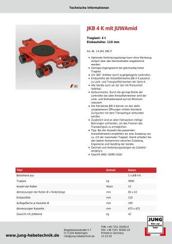 Produkt Details JKB 4