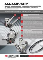 AM/AMP/AHP Manuelles und pneumatisches Kombinations-Umreifungswerkzeug