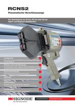 RCNS 2 pneumatische Verschlusszange für Stahlband
