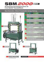 SBM 2000serie Hochleistungs-Umreifungsmaschinen für