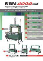 SBM 4000serie Hochleistungs-Umreifungsmaschinen für