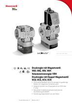 Druckregler mit Magnetventil VAD, VAG, VAV, VAH