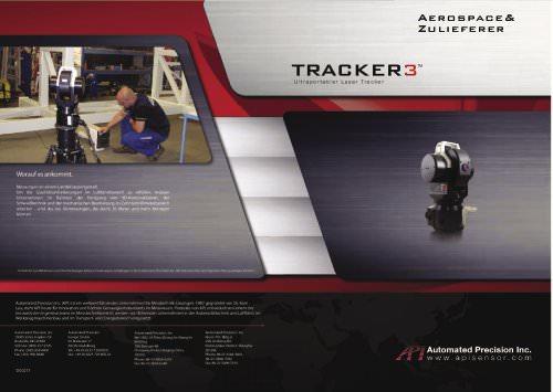 Aerospace-Zulieferer: Lasertracker im Einsatz (flyer)