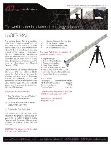 Laser Rail Tech Sheet