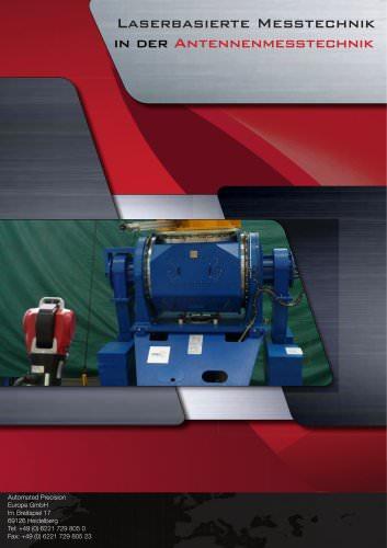 Laserbasierte Messtechnik in der Antennenmesstechnik