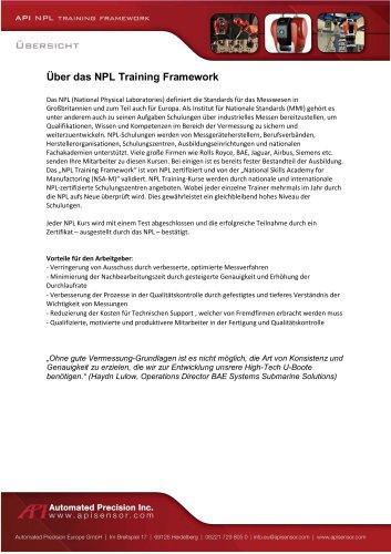 NPL Training - zertifizierte Kurse - Kurzbeschreibung