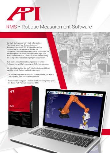 Robotermess-Software