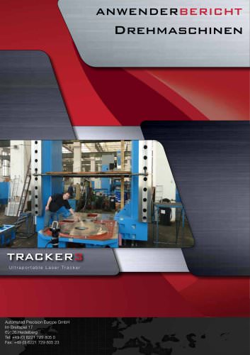 Vertikal-Drehmaschinen: Messen großer Teile mit Laser Tracker