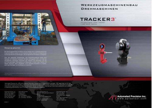 Werkzeugmaschinenbau: Drehmaschinen Messen mit Laser Trackern (Flyer)