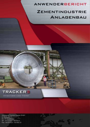 Zementindustrie: Messen großer Teile mit dem Lasertracker