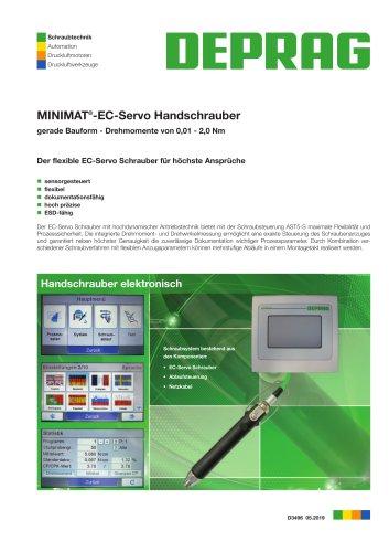D 3496 – MINIMAT®-EC-Servo Handschrauber