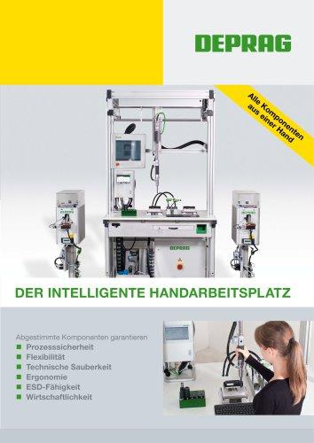 Flyer Der intelligente Handarbeitsplatz