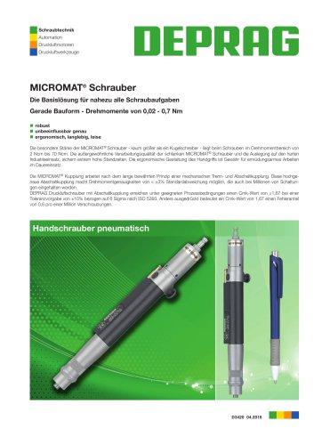 MICROMAT Prüfschrauber