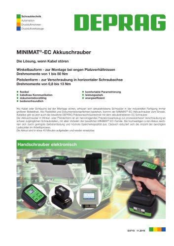 MINIMAT®-EC Akkuschrauber