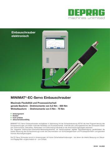 MINIMAT-EC-Servo Einbauschrauber Drehmomente von 0.2Nm - 500Nm