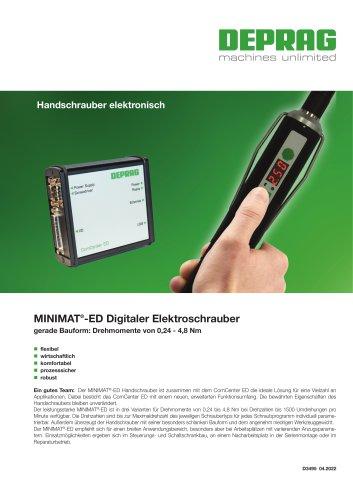 MINIMAT®-ED Digitaler Elektroschrauber