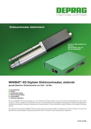 MINIMAT®-ED Digitaler Elektroschrauber, stationär