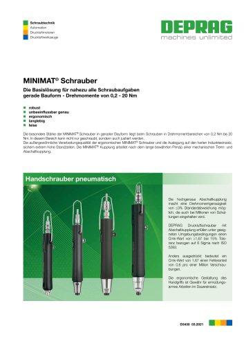 MINIMAT Schrauber