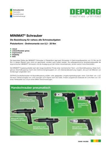 MINIMAT Schrauber Pistolenform