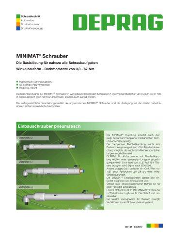MINIMAT Schrauber Winkelbauform - Einbauvariante