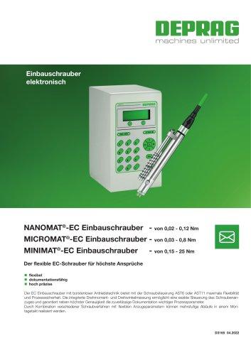 NANOMAT-EC / MICROMAT-EC / MINIMAT-EC Einbauschrauber