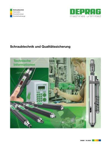 Schraubtechnik und Qualitätssicherung