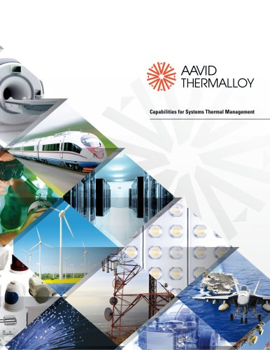 Aavid General Capabilities Overview