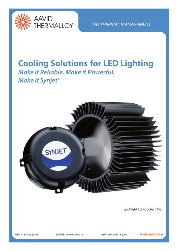 Cooling Solutions for LED Lighting