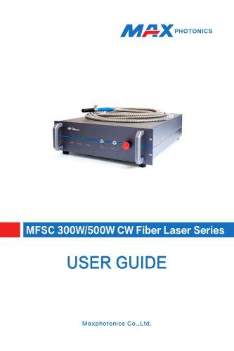 300W-500W (G3)Single-module CW Fiber Laser V1.6