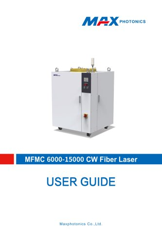 6000W-15000W Multi-module CW Fiber Laser V1.3
