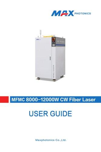 8000-12000W Multi-module CW Fiber Laser V1.1