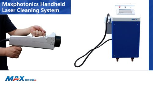 MAX Laser Cleaning Machine for Rust Removal