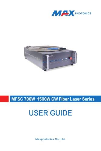 MFSC 700W-1500W CW Fiber Laser Series