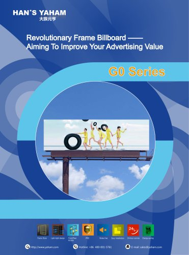Yaham Go Series LED display catalogues