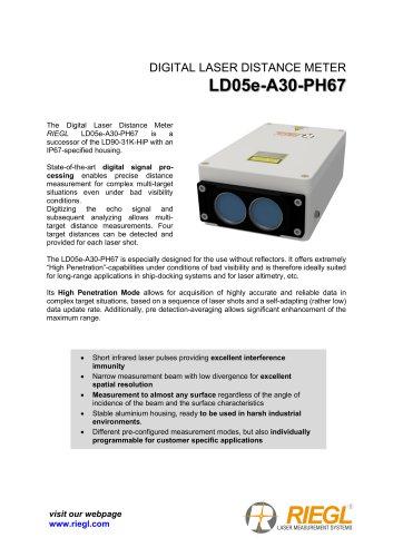 RIEGL LD05e-A30-PH67