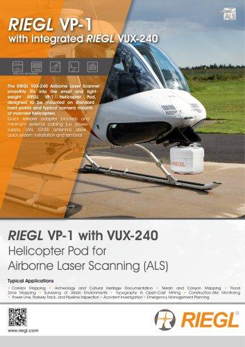 RIEGL VP-1 with RIEGL VUX-240