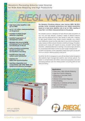 RIEGL VQ-780 II